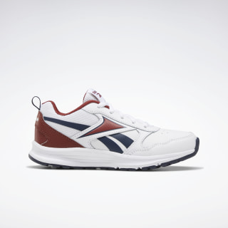 Reebok Almotio 5.0 Shoes White / Red Ember / Collegiate Navy EF3335