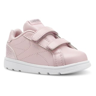 Reebok Royal Complete Clean – Infant & Toddler Pastel-Practical Pink/White/Silver CN5066