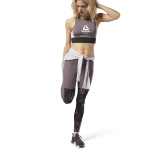 Leggings Training Essentials Pannel Almost Grey D95805