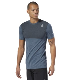 Remera Rc Myoknit Tee blue hills / black DU5080