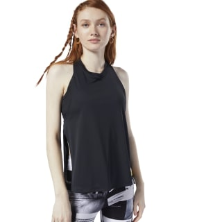Meet You There Tank Top Black DY8109
