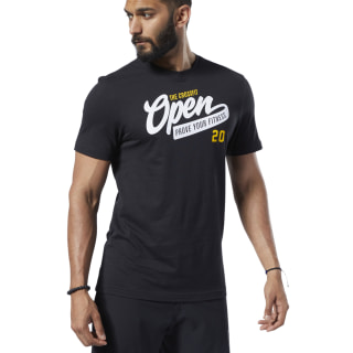 T-shirt Reebok CrossFit® Open Black FP9336