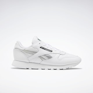 Classic Leather Women's Shoes White / Silver Met. / White EF3267