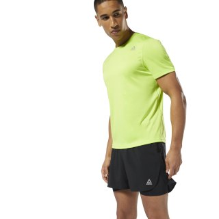 Run Essentials Tee Neon Lime DP6745