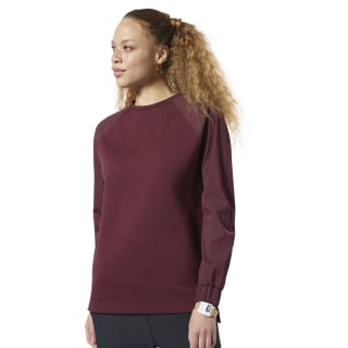Sweat Training Supply Midlayer Lux Maroon DY8198