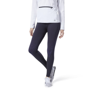 Legging sans coutures Base Layer Thermowarm Black / Midnight Ink DY8175