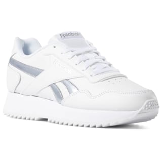 Reebok Royal Glide Ripple Double White/Silver Metallic DV3846