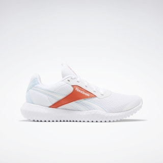 Reebok Flexagon Energy TR 2.0 Shoes White / Vivid Orange / Glass Blue EH3598