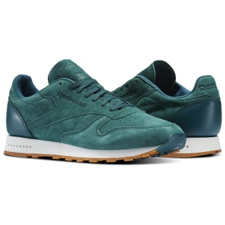 Classic Leather SG Washed Jade/Chalk-Gum BD6014