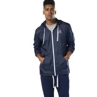 Chamarra Rompevientos Classic Leather F  collegiate navy DT8159