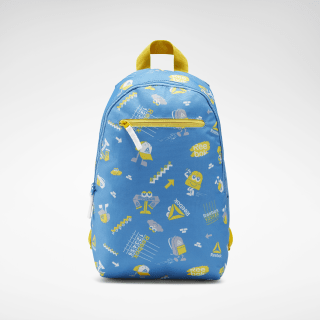 Allover Print Backpack Cyan EC5408