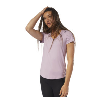 Workout Ready Speedwick Tee Infused Lilac D95074