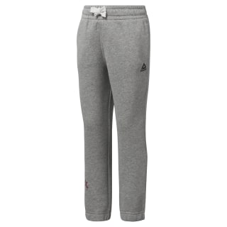 Girls Elements Fleece Pant Medium Grey Heather DJ3066