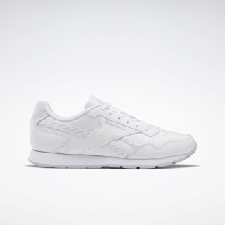 Reebok Royal Glide Shoes White / Sterling Grey / Black EF7490
