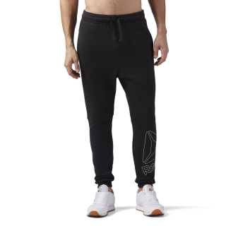 Reebok Elements Logo Jogger Black CE4748