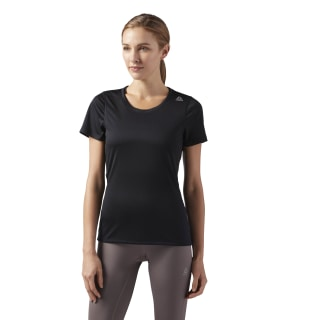 Спортивная футболка Running Essentials Black/Black CD7704