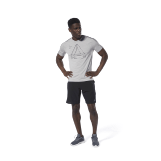 T-shirt Training ACTIVCHILL Graphic Mgh Solid Grey DU3932