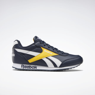Scarpe Reebok Royal Classic Jogger 2.0 Collegiate Navy / Solar Gold / White EH1790