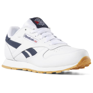 Classic Leather White/Collegiate Navy/Gum DV4567