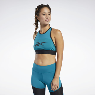 Workout Ready Bralette Seaport Teal FJ2698