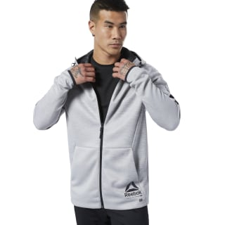 Hoodie de zipper completo One Series Training Mgh Solid Grey DY8014