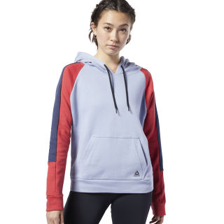 Sudadera Workout Ready Colorblocked Cover-Up Denim Dust EC2398