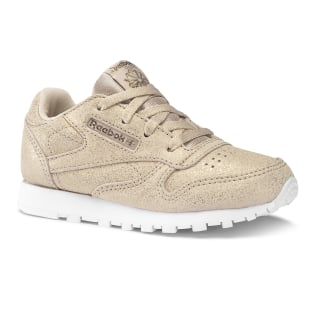 Classic Leather Ms-Rose Gold / Bare Beige / Wht DV3619