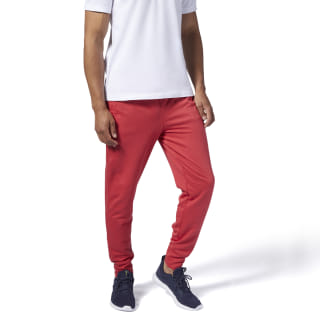 Pantalon de sport avec logo Training Essentials Rebel Red FI1947