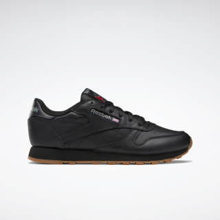 Classic Leather Shoes Black / Yellow / Black 49802