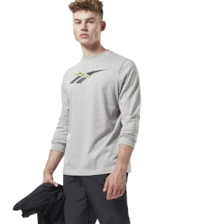 Classic Graphic Longsleeve Medium Grey Heather EK4600