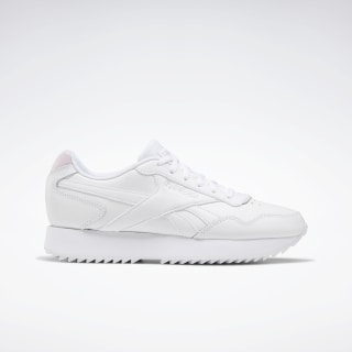 Reebok Royal Glide Ripple Shoes White / Pixel Pink / White EG9488