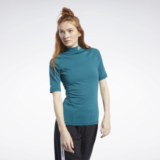 Meet You There Shirt Heritage Teal FK6754