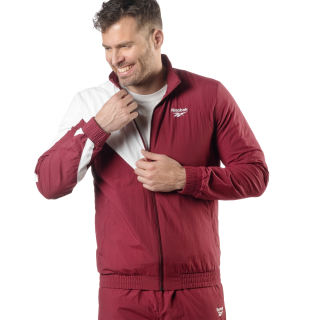 Classics Vector Trainingsjack Collegiate Burgundy DW4952