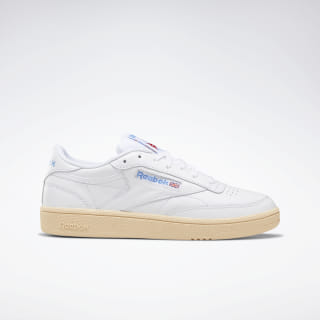 Club C 85 Shoes White / Athletic Blue / Red DV7265