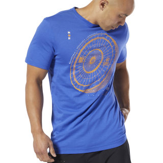 Camiseta Reebok CrossFit® Science Weight Crushed Cobalt DP6212