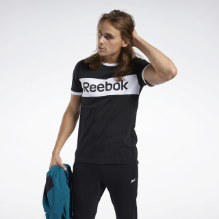 T-shirt avec logo linéaire Training Essentials Black FK6125