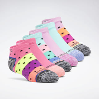 Reebok Delta Basic Low Cut Socks - 6 Pack Assorted CL5191