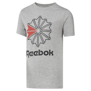 T-shirt Classics Starcrest - Unisexe Medium Grey Heather DH3255