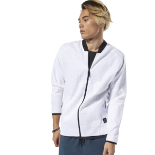 Training Supply Bomber Jacket White DP6116