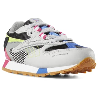 Classic Leather ATI 90s Grey / Blk / Pink / Lime DV5523