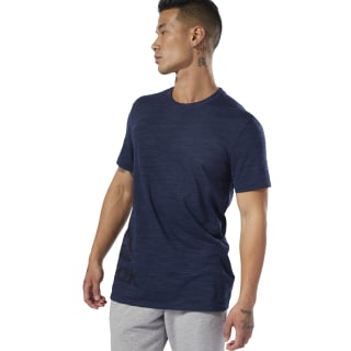 T-shirt marbré Group Training Essentials Collegiate Navy DU3780