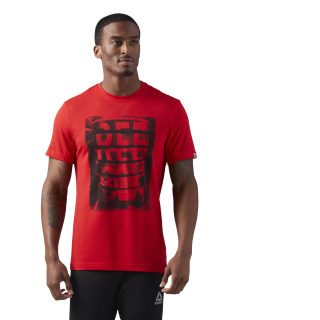Bumper Plates Graphic T-Shirt Primal Red CF3856
