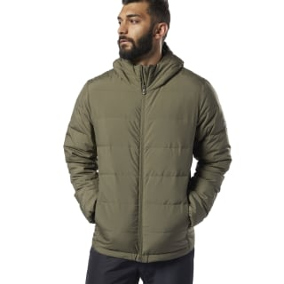 Giacca imbottita Outdoor Lightweight Army Green / Black EJ8341