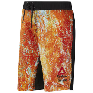 Reebok CrossFit Boy's Shorts Orange / Bright Lava CF2706