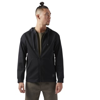 Training Supply Full-Zip Hoodie Black CV4459