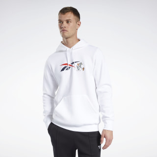 Tom and Jerry Hoodie White GK9160