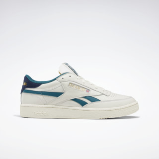 Club C Revenge Shoes Chalk / Collegiate Navy / Heritage Teal EF3091