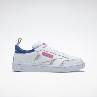 Club C Ree:Dux Shoes White / Humble Blue / Posh Pink FV3528