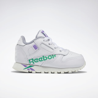 CLASSIC LEATHER White / Emerald / Grape / Chalk DV9607