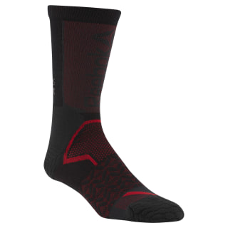 Chaussettes unisexes mi-mollets Reebok CrossFit Tech Black CZ9945